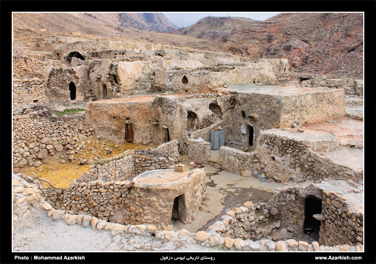 روستای لیوس دزفول - عکس : محمد آذرکیش
