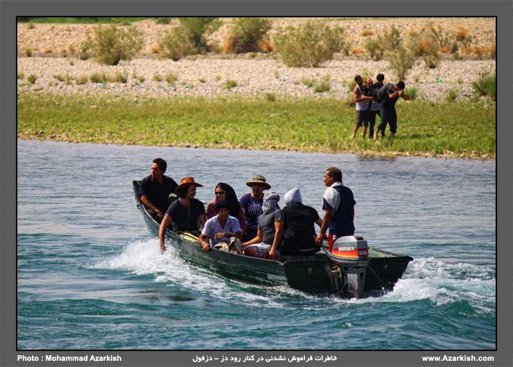 رودخانه دز دزفول - عکس : محمد آذرکیش