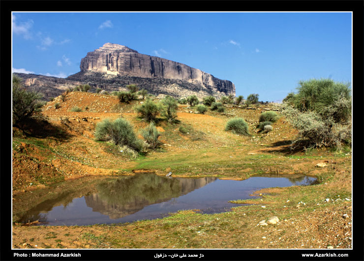 دژ محمد علی خان دزفول - عکس : محمد آذرکیش