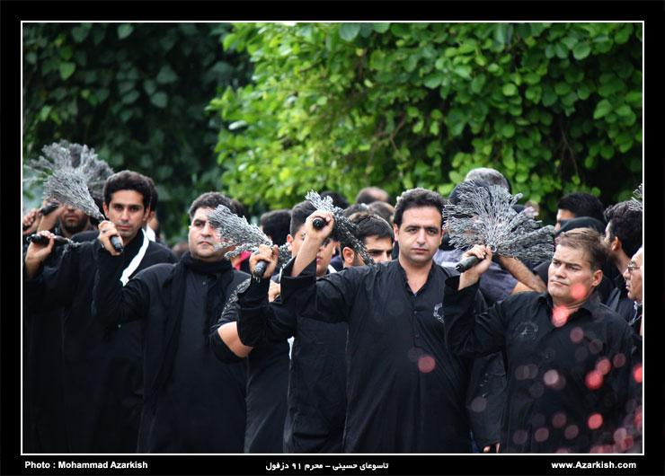 محرم دزفول - عکس : محمد آذرکیش